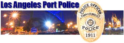 Los angeles port police jobs for La port police