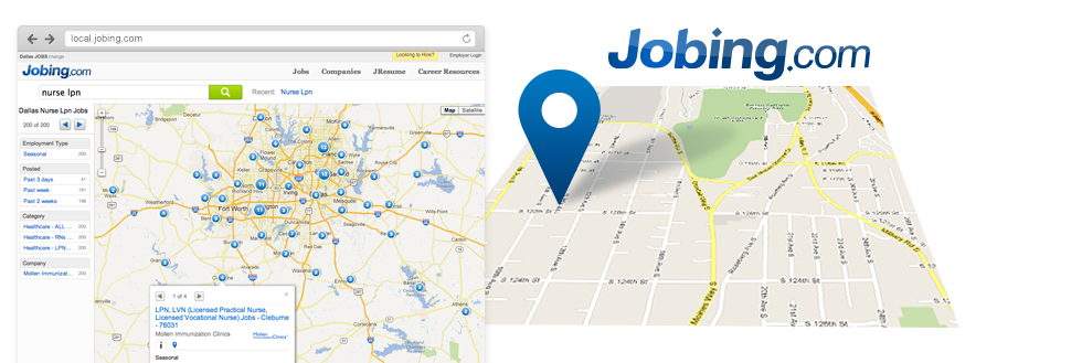 Jobing.com Local Job Board Advertising